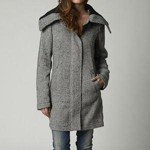 "Fox ""Motivate"" Coat - Black/White Herringbone - Size Small - NEW"