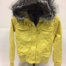 "Fox Racing ""Lexie"" Canvas Insulated Jacket - Yellow - NEW"