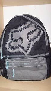 Fox Racing - Girls Bust It Backpack - Black/Grey - NEW