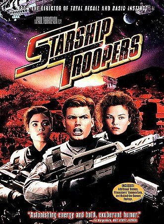 Starship Troopers (DVD, 1998, Keep Case; Multiple Formats; Closed Caption)