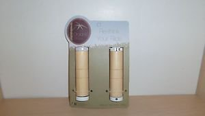 Organic Bikes Bamboo Locking Grips with WHITE caps - NEW