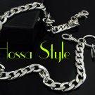 Basic Motorcycle Silver Simple Hiphop Punk Rock LA Jeans Wallet Key Chain BM5