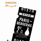 Maigret Le Fou de Bergerac Simenon, Georges (Open Books 2011) (Korean Edition)