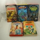 Piers Anthony Complete Cluster Series 5 Books Vintage Science Fiction