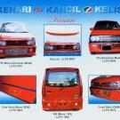 Perodua Kenari(Move Style) PU Bodykits