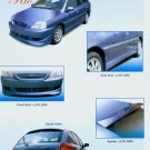 Kia Rio Full Skirting