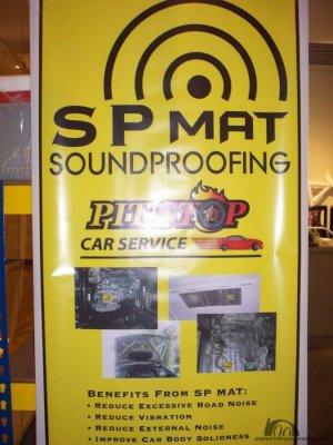 SP Mat Soundproofing
