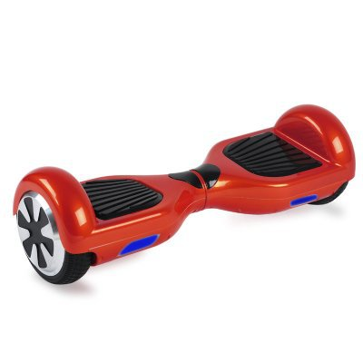 Dual wheel Electric scooter/Hover board (silver,red)