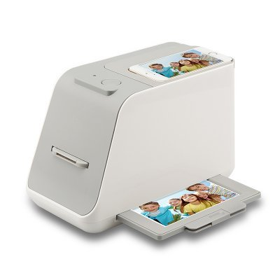 Smart photo film scanner (only phones 6inches or under)