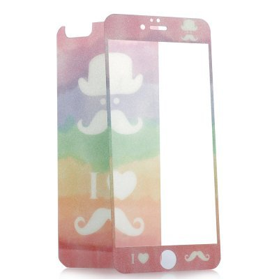 Front & Rear temper glass for iphone 6 plus (glow in the dark)