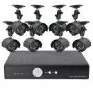 8 Camera Surveillance Kit - 8 Outdoor CCTV Cameras, H264 DVR, 1TB (2nd Generation)