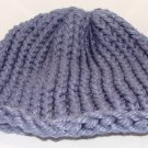 Kids bulky blue hat