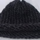 Kids Grey bulky knit hat