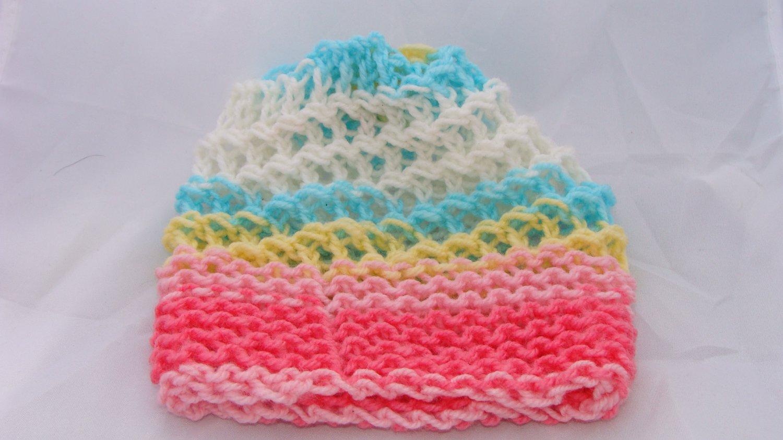 Kids super soft pastel hat