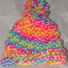 Kids Neon hat with pompom