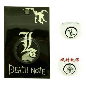 Death Note anime ring