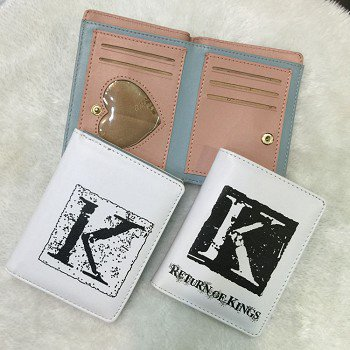 K anime purse wallet