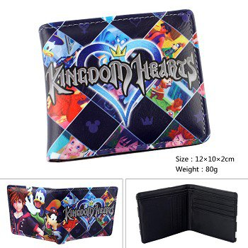 Kingdom of Hearts anime wallet *Out of stock*