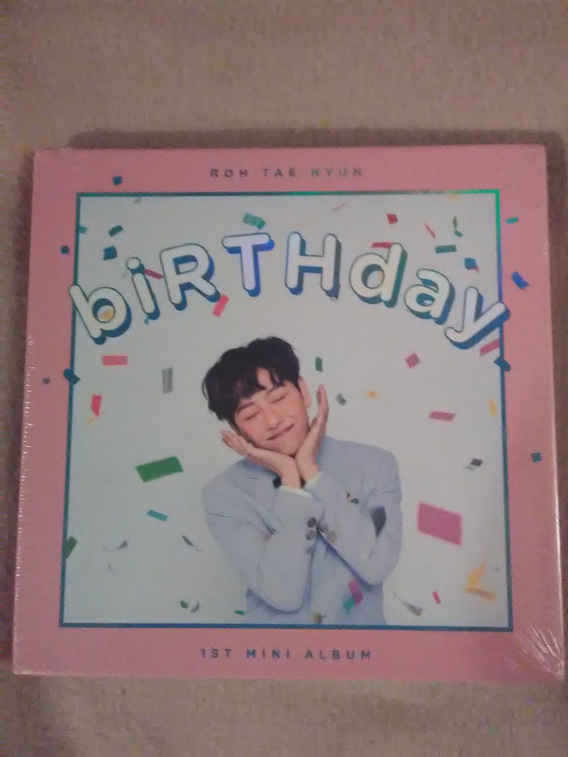 Roh Tae Hyun- 1St Mini Album: Birthday