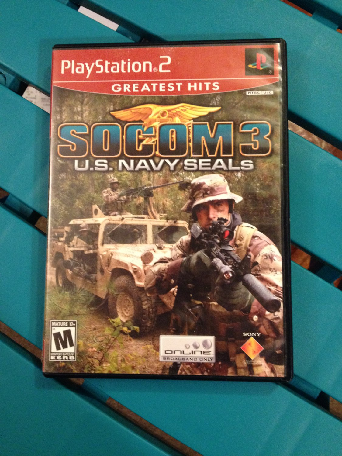 SOCOM III US Navy Seals [Greatest Hits]