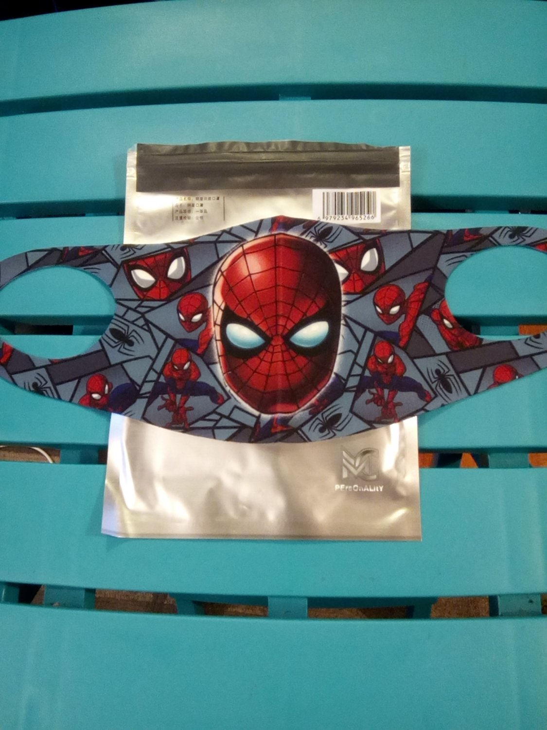 Spiderman Facemask