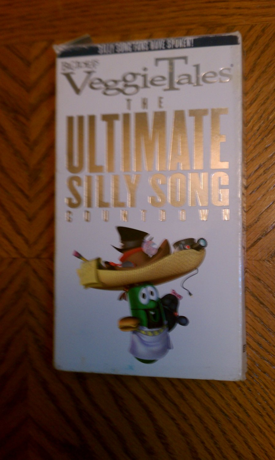 VeggieTales - The Ultimate Silly Song Countdown (VHS, 2001)