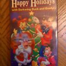 Happy Holidays With Darkwing Duck and Goofy Disney ( VHS )
