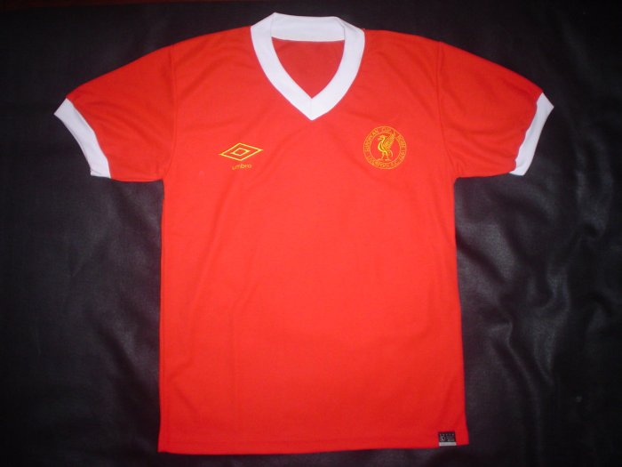 Liverpool 1977 Rome  European Cup Shirt