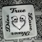 Skull Couple Ring Dish - Skull Love- True Love Never Dies - Custom Ring Dish
