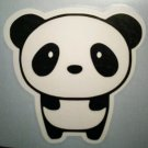 "Cute Lil Panda Decal 3""  - Panda Sticker - Black and White Panda tumbler decal"