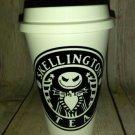 Nightmare Before Christmas Jack Skellington Tea Travel Cup - Coffee