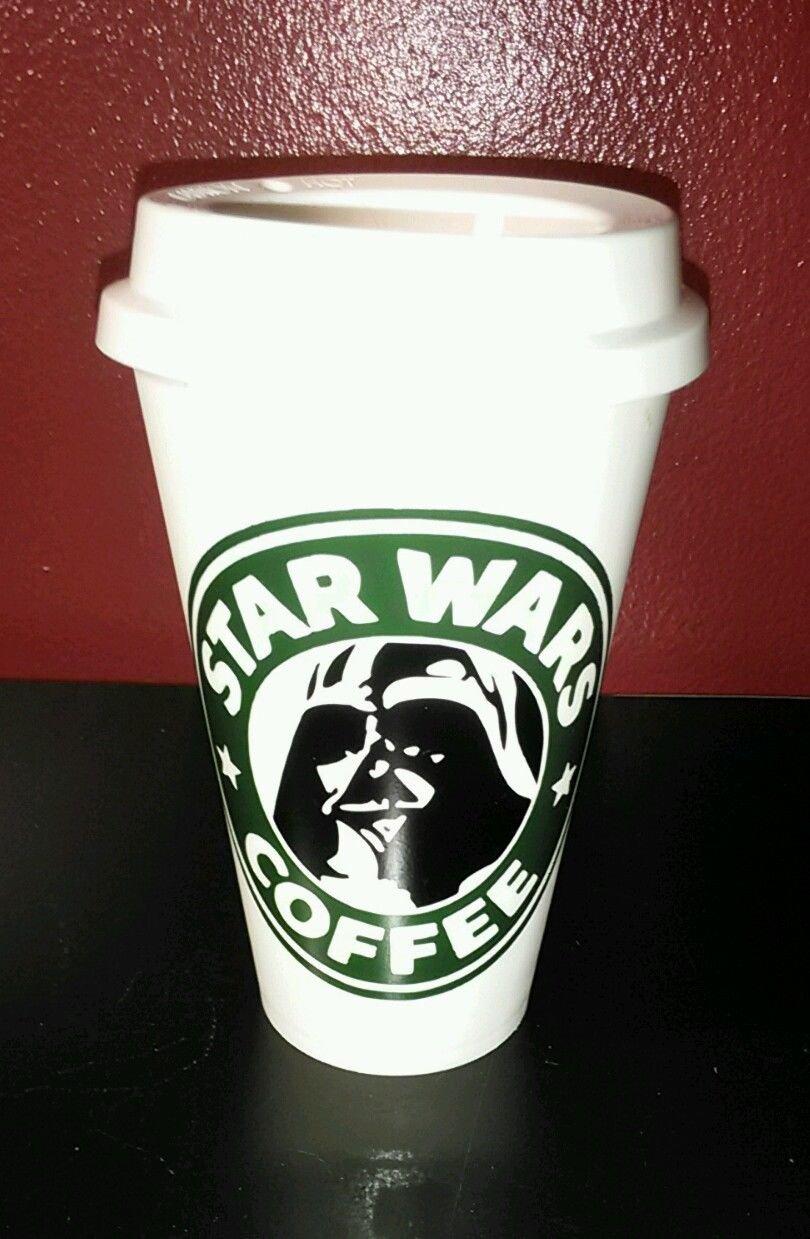 Darth Vader Star Wars reusable thermal coffee Travel Mug