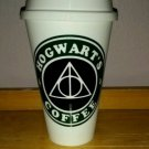Harry Potter - Hogwarts Coffee Plastic Reusable Travel Coffee Cup