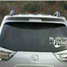 "Harry Potter - My other ride is a firebolt car decal - 3"" tall x 6"" wide"