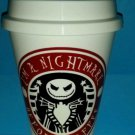 I'm a nightmare before coffee - Jack Skellington Coffee plastic Travel Mug