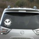 Nightmare before Christmas lil skellington on board - baby on board decal 5""