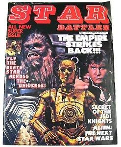 Vintage Summer 1979 Star Battles Star Wars Empire Strikes Back Preview Alien