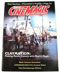 Vintage Starlog Cinematic FX Magazine #7 Claymation Cartoon Animation