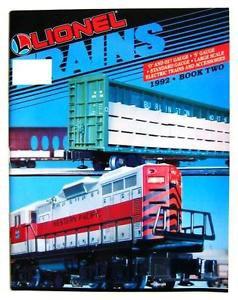 1992 Lionel Trains Book 2 Catalog Accessories 11729 16534 18023 18010 18107