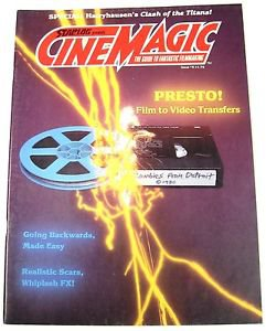 Vintage Starlog Cinematic FX Magazine #8 Ray Harryhausen Clash of the Titans