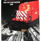 1989 Lionel Train Pre-Toy Fair Edition Litho Catalog 18205 18203 18004 18303 44