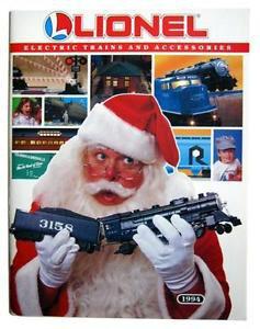 1994 Lionel Trains Litho Christmas Santa Catalog Accessories 18638 18034 18421