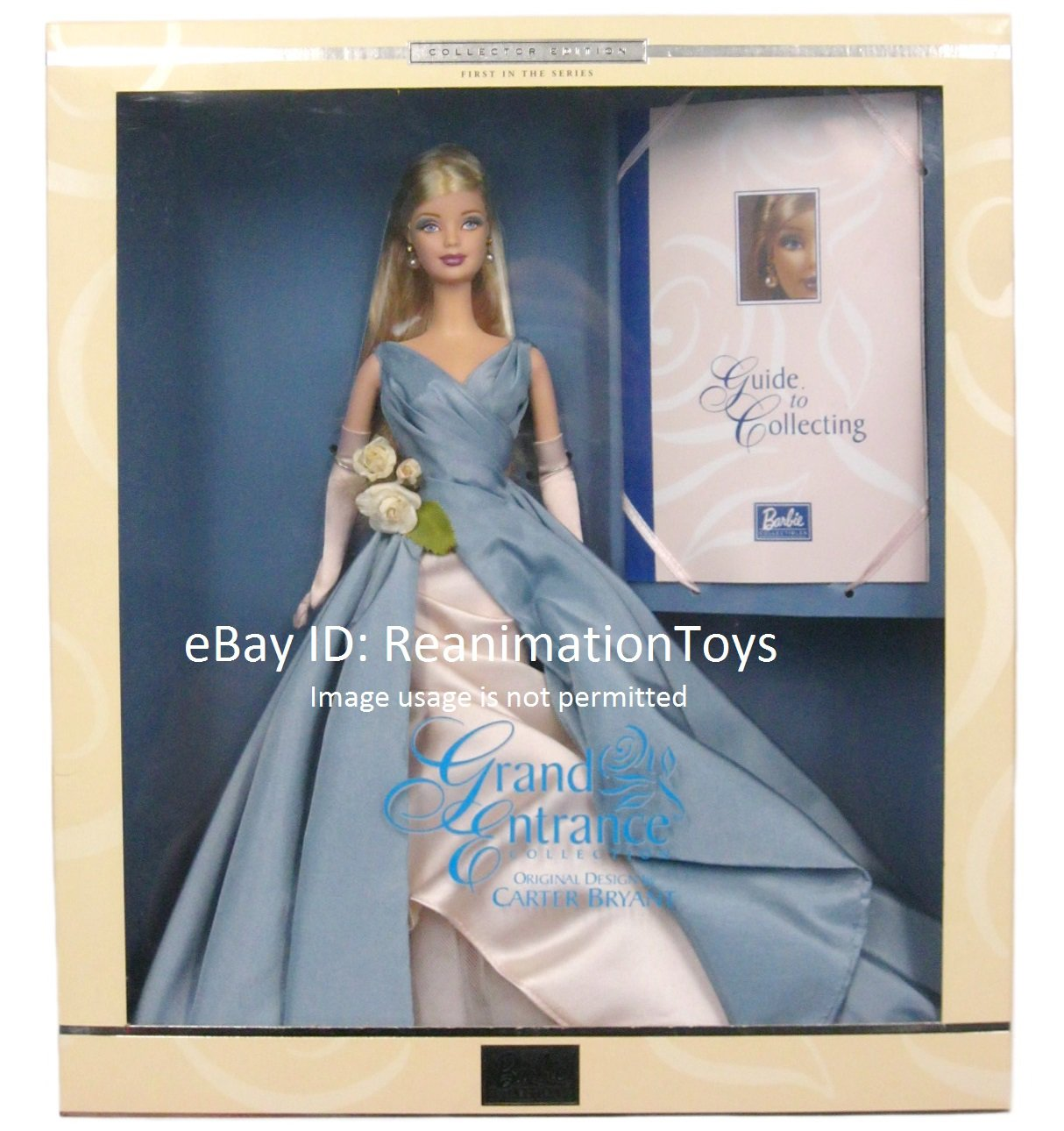 Barbie Grand Entrance First in the Series Carter Bryant Doll Mint Sealed NRFB