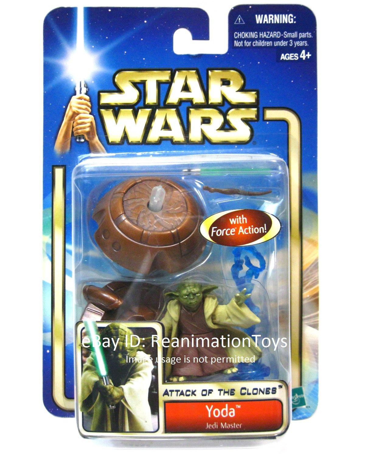 Star Wars Saga Attack of the Clones AOTC Yoda Jedi Master MOC