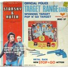Vintage 1977 Starsky and Hutch Police Target Range Game Mint Complete w/Box Works
