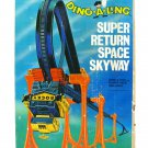 Vintage Topper Ding-A-Ling Super Return Space Skyway Robot w/Power Pack & Box