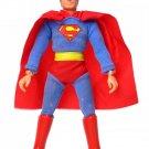 "Vintage 1974 Mego Superman Early Nylon T1 8"" Action Figure 100% Complete EX"