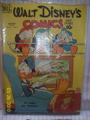 Walt Disney's Comics and Stories Aug 1950  Vol 10  Issue 11