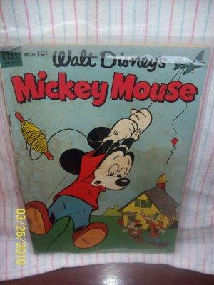 Walt Disney's Mickey Mouse Jun-Jul 1953 Issue 31