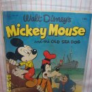 Mickey Mouse Sea Dog  Aug-Sept 1952 Issue 411